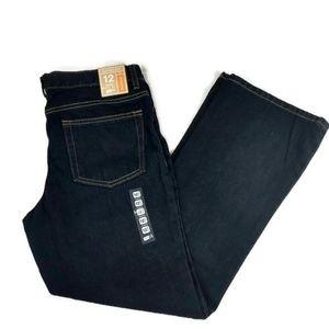Crazy 8 Boy's Husky Size 12 Bootcum Denim Jeans